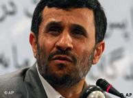 O presidente iraniano Ahmadinejad busca no Brasil parcerias para programa nuclear