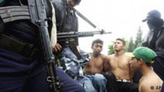 Honduras Kriminalität Maras Bandenmitglieder verhaftet