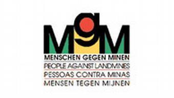 Logo der Stiftung Menschen gegen Minen