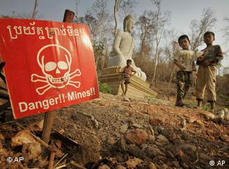 Cambodia is still one of the most heavily mined countries in the world