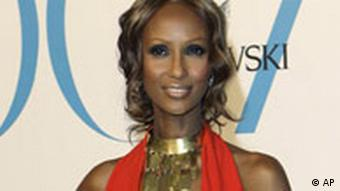 Model Iman bei CFDA Fashion Awards in New York
