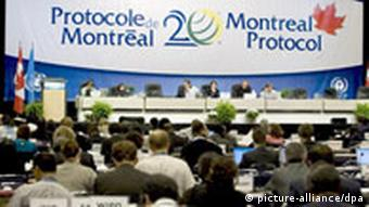 A general view of the 20th Montreal Protocol assembly in September 2007