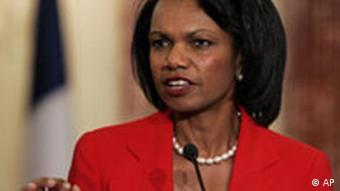 Condoleezza Rice, Quelle: AP