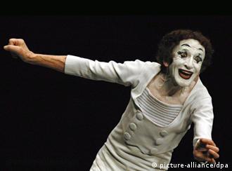 Marcel Marceau, Quelle: AP