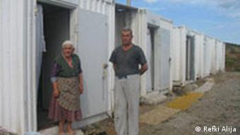 Container settlement in Kosovo