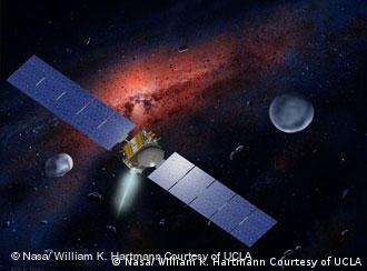 La sonda Dawn y los protoplanetas Ceres y Vista.
