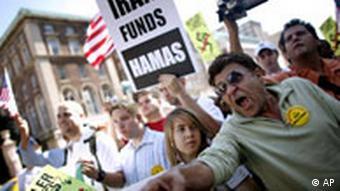 تظاهرات در نیویورک علیه محمود احمدینژاد