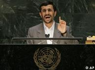 El presidente de Irán también ocupó la tribuna.