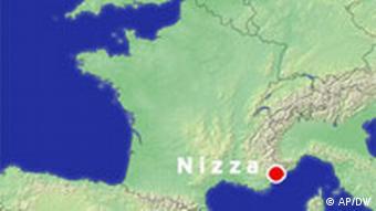 Karte Terra Incognita Frankreich Nizza