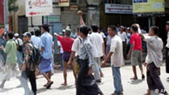 Myanmar Proteste in Burma