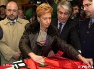 Rosa Díez abandonó el PSOE, donde fue eurodiputada durante años, para unirse a UPD.
