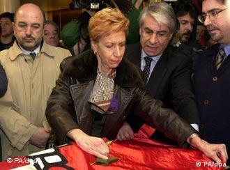 Rosa Díez abandonó el PSOE para unirse al proyecto de UPyD.