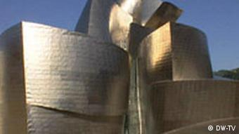 Gehry's titanium plated building occupies a 32,500-meter-square site in Bilbao