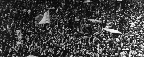 Madrid feiert die Republik, 1931