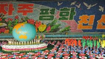 State propaganda is omnipresent in North Korea