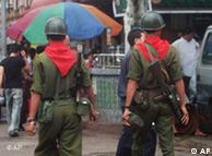 Soldiers in Myanmar have been known to abuse human rights