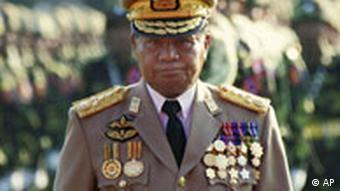 Myanmar junta leader Than Shwe