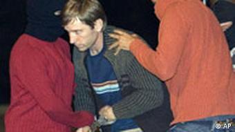 Spanien, Verhaftung Rufino Etxeberrias