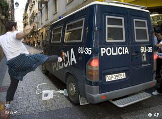 Los dirigentes fueron detenidos por orden del juez Baltazar Garzón.