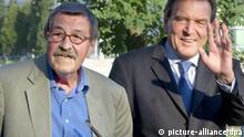 Günther Grass und Gerhard Schröder