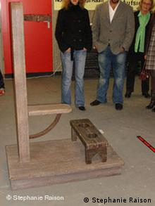 Thomas Schneider's SM-Stuhl, am ehesten Selbstgebaut installation