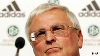 Deutschland Fußball DFB Präsident Theo Zwanziger