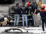 Último atentado de ETA en Bilbao. El terrorismo sigue a la orden del día.
