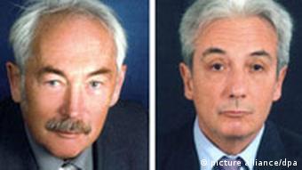 Physik-Nobelpreisträger Peter Grünberg und Albert Fert