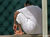 Mshukiwa wa ugaidi katika gereza la Guantanamo nchini Cuba.