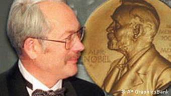 Peter Grünberg and a Nobel Prize medal