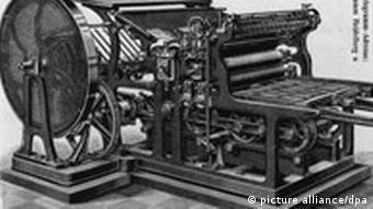 Stari tiskarski stroj