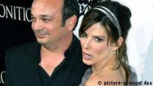 Director Mennan Yapo and Sandra Bullock arrive at Premiere of Premonition, Cinerama Dome in Hollywood, California, on March 12, 2007. EDO /Landov +++(c) dpa - Report+++