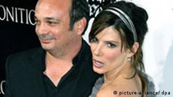 USA Film Regisseur Mennan Yapo and Sandra Bullock
