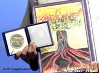 诺贝尔和平奖奖章和证书(2006年)