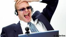 Symbolbild Manager im Stress