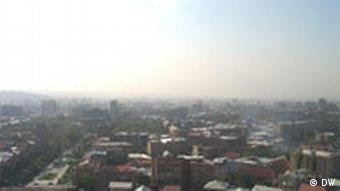 Blick auf die armenische Hauptstadt Jerewan (Foto: DW)