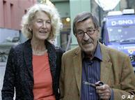 Günter Grass e sua mulher Ute