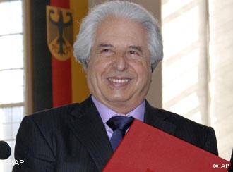 Saul Friedländer, winner of the the Peace Prize of the German Booksellers Association