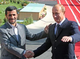 Ахмадинежад и Путин