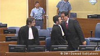 Halilovic und Anwalt