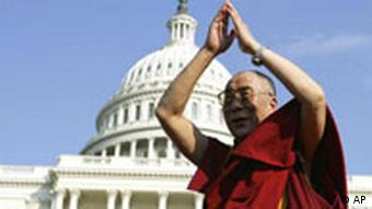BdT USA Dalai Lama in Washington vor Capitol Hill