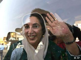 Benazir Bhutto (AP Photo/Mary Altaffer)