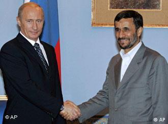 پوتین و احمدینژاد