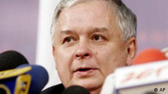 Lech Kaczynski, Polish president