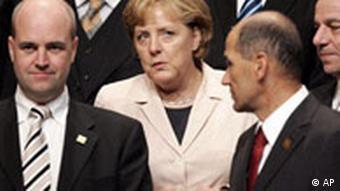 Portugal EU Gipfel in Lisabon Familienfoto Abschluß Angela Merkel
