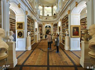 Biblioteca Anna Amalia, por ocasião da reinauguração, em 2007
