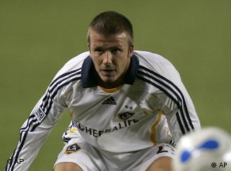 David Beckham (Quelle: AP, Archivbild: 18.10. 2007).