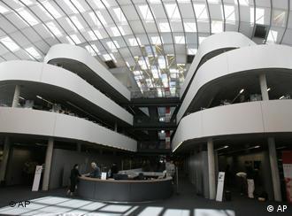 La biblioteca de la Universidad Libre de Berlín.