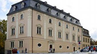 Deutschland Anna Amalia Bibliothek in Weimar Gebäude