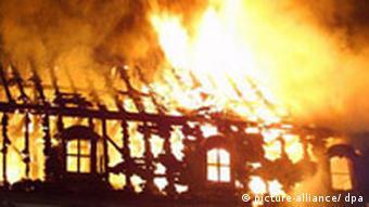 Brand im Dachstuhl der Anna Amalia Bibliothek